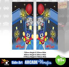 Panel de arte lateral Arcade Bombjack Gráficos Pegatinas/Laminado Todos Los Tamaños