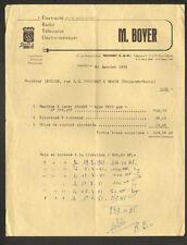 "TRILPORT (77) COMMERCE RADIO TELEVISION ELECTRO-MENAGER Radiola ""M. BOYER"" 1961"