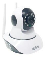 Wireless IP Baby Monitor Camera 2-Way Audio Night Vision Nanny Cam HD 720p 1080