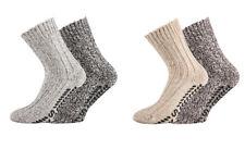 4 Paar FussFreunde ABS-Socken Norwegersocken mit 50% Wolle Rutschfeste Sohle