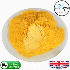 Cosmetic Mica Powder Saffron Yellow Pigment Soap Bath Bombs  Nail Art Additive