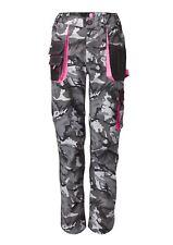 Work Kit Girl Womens - Combat Trousers - Black