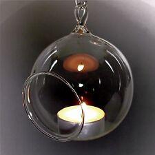 Windlicht Glaskugel Teelicht Glaskugeln Teelichtkugel Baumkugel  6-15cm Qualität