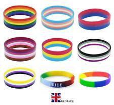 LGBTQ+ BRACELETS Gay Pride Rainbow Unisex Bracelet Jewellery Lesbian Trans UK