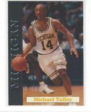 1992-93 MICHIGAN WOLVERINES TEAM ISSUE BASKETBALL SINGLES