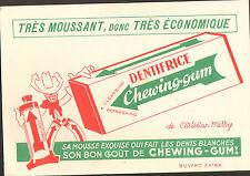 DENTIFRICE CHEWING-GUM CHRISTIAN MERRY COW-BOY BUVARD BLOTTING PAPER
