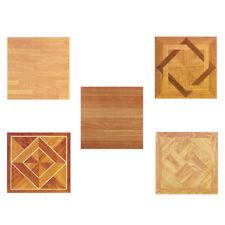 Wood Vinyl Tiles 40 Pieces Self Adhesive Indoor Flooring - Actual 12''x12''