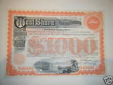 West Shore Railroad Company 400 Year $1,000 junk bond