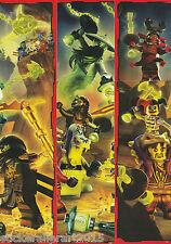 Lego Ninjago Serie 2 Trading Card Game 181-216 Puzzle Karten zum aussuchen