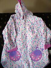 Totes GIRLS LADYBUG DOT Raincoat NEW LINED Pink Purple