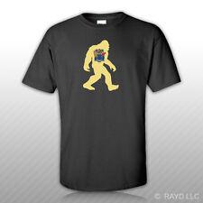 New Jersey Bigfoot T-Shirt Tee Shirt NJ big foot sasquatch yeti