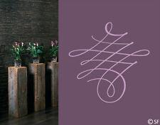 Wandtattoo Kalligrafisches Ornament Sprüche Zitate Wandaufkleber Flur uss546
