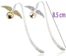 HARRY POTTER Golden Snitch Quidditch Hogwarts Express Charm Keyring Bookmarks UK