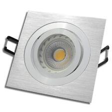 6er Set / DIMMBARE / LED Einbauleuchten Mia / 220Volt / 7Watt / Gu10 / Aluminium