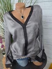 Apart Bluse Tunika Shirt Gr. 40 - 54 Grau Schwarz (635)
