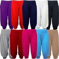 Nouvelles dames Plus Size libres Hareem Pantalon court Sarouel 40-54