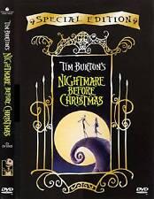 DVD DISNEY Nightmare Before Christmas di Tim Burton