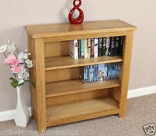 Oak Bookcase Book Storage Dvd Cd Storage Display Unit