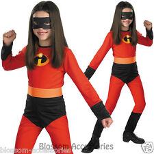 CK411 The Incredibles Violet Child Girls Hero Costume Halloween Fancy Dress Up