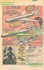 Tri Star, Douglas DC10, Sky Scout: Model Print Ad #2