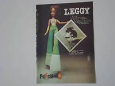 advertising Pubblicità 1974 BAMBOLA LEGGY POLISTIL