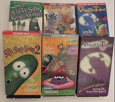 VeggieTales ~ VHS ~ VARIETY OF TITLES ~ YOU CHOOSE TITLE & QUANTITY~1+ SHIP