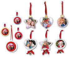 Weihachtssterne für Fotos Fotokugel Stern Weihnachtskugel Weihnachtsbaum