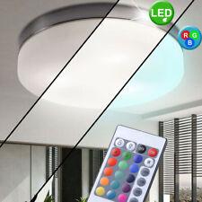 DESIGN LED RVB verre Luminaire de plafond VARIATEUR Chambre à coucher éclairage