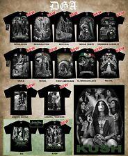 DGA David Gonzales Lowrider Chicano Art Aztec Viva Mexico 420 T Shirt