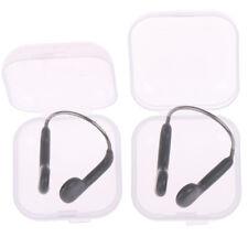 Adult/kids Swimming nose clip & case transparent clear ZPHWC HO