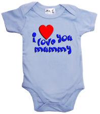 """Body Bébé """" je t'aime ( cœur) Mummy """" grenouillère maman fête des mères CADEAU"""