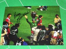 Liverpool Bruce Grobbelaar Signed 1984 European Cup Winners Photograph