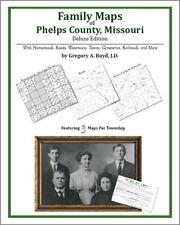 Family Maps Phelps County Missouri Genealogy MO Plat