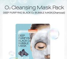 PUREDERM Deep Purifying Black O2 Bubble Mask Charcoal (US Shipper)