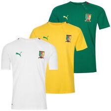Kamerun PUMA Herren Fan T-Shirt Sport Training Fußball Fan Tee Shirt 739525 neu