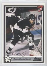 1990-91 7th Inning Sketch LHJMQ #134 Claude Savoie Hull Olympiques (QMJHL) Card