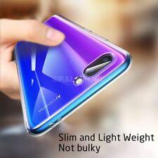 COVER per Huawei Honor 10 CUSTODIA TPU HD Ultra Slim Morbida Trasparente