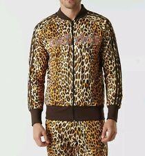 $330 Adidas Originals ObyO Jeremy Scott LEOPARD SHISHA TRACK JACKET TOP AC1899