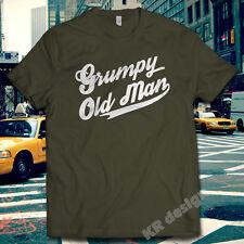 Grumpy Old Man Men's Club Tshirt Grandad Dad Tee Funny Christmas Gift Xmas shirt