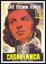 Casablanca 5 cartel mayor películas clásicos películas & Vintage