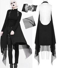 Gilet veste oversize gothique punk lolita fashion rock sangles résille PunkRave