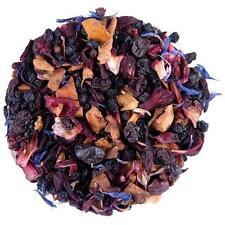 Decaf Blackberry Gourmet Flavored Loose Leaf Tea Decaffeinated Organic Black