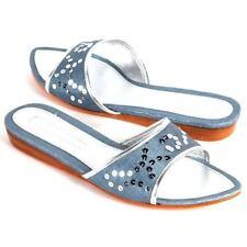 C LABEL Rock Candy Ocean/Sliver Women Sandal size 7