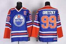 Wayne Gretzky Edmonton Oilers  99 NHL Hockey Jersey Vintage Throwback 82fe32961