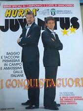 Hurrà Juventus 12 1990 Stefano Tacconi Roberto Baggio