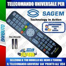 TELECOMANDO UNIVERSALE SAGEM; CLICCA SUL TUO MODELLO LO RICEVERAI GIA PRONTO