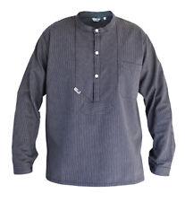 Modas Finkenwerder Fischerhemd Marine Matrose Hemd für Herren schmal gestreift