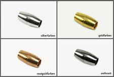 Magnetverschluss für Bänder Ø 3/5/6/7 mm Verschluss Schmuckverschluss, MV-21