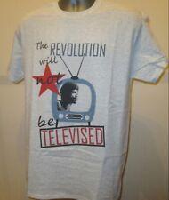 The Revolution Will Not Be Televised Gil Scott Heron T Shirt Jazz Funk Music 195
