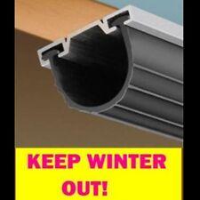 Universal Garage Door Bottom Synthetic Rubber 5/16 T Weather Strip 16'